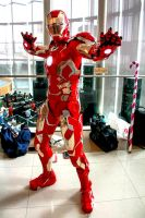 Iron Man Mark 43 cosplay by oucd45