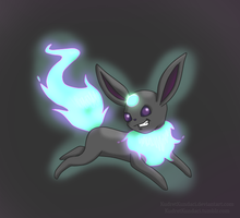 Poll Winner: Ghost Eevee: Chimereon by His-Bushman