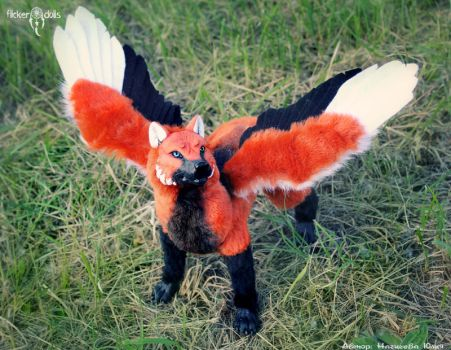 OOAK Simuran Koi by Flicker-Dolls