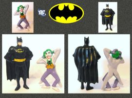 Batman - Miniatures 3 by mikedaws