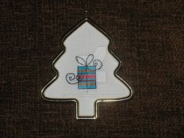Cross Stitch Gift Ornament by Enithien