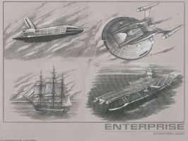 Enterprise Background by PFreeman008