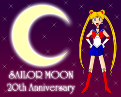 Sailor Moon 20th Anniversary by ZeFrenchM