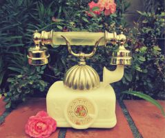 Vintage French Telephone by sdmoon