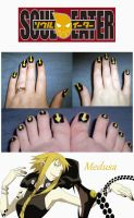 Medusa Nailpolish by shadowcat-666