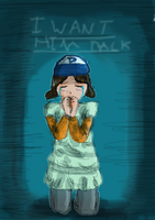 Clementine - I want him back (Sketch) by Crazyb2000