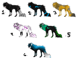 Wolf adoption 4 by All-Animal-Adoptable