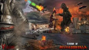 Godzilla: Birthday Ed.7(Terror of Mechagodzilla) by innocentoVia