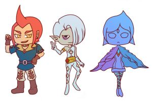 Skyward Sword Stickers by Zorafish