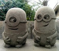 Minions by sculptin