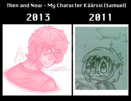 Then and Now by PrissyPantsUnicorn