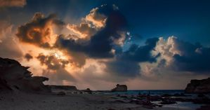 Sunset.. Egypt by wolfreen