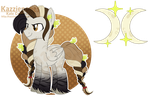 [COM] Tribal Alicorn Custom by Kazziepones