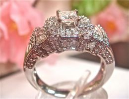 Decadent Diamond Ring - 2 by SeattleFineJewels
