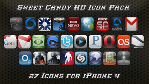 Sweet Candy HD Icon Pack by vasyndrom