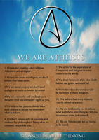 We are Atheists by Sc1r0n