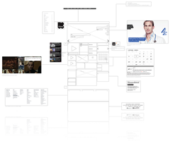 creative wireframe by creativecircle