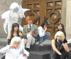 Death Note grupal by MikotoSakura