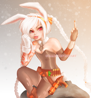 Battlebunny Jinx by Gumae