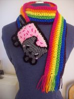 Nyan Scarf by Ohsewrae