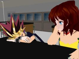 Snoozing in Class... by YuGiOhPowerRanger