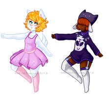 Collab Adoptables by SecretMonsters