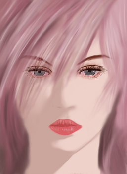 Lightning iPad Drawing by Materialize127