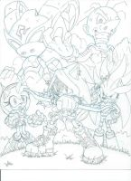Sonic Universe Secret Rose fan cover teaser 3 by trunks24