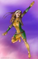 Rogue - Coloured...again by ReverendTrigster