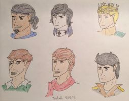 Men busts by thrallath