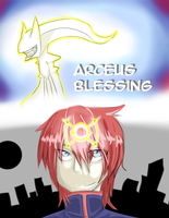Arceus Blessing Cover by YukiraNine