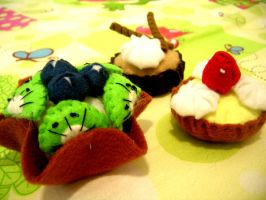 Fruit Tarts by MagicForWitch