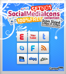 Social MEDIA Icons SET by UJz