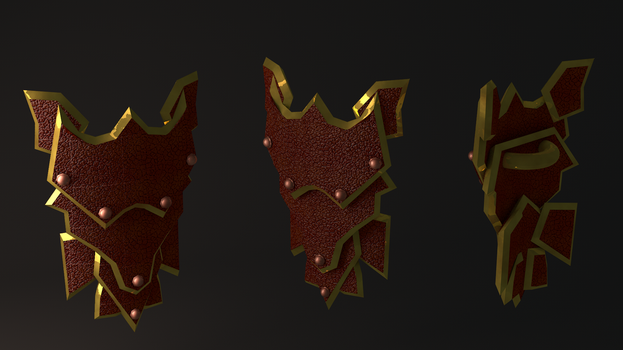Dragon sq shield  (HighRes Runescape) by iammrx