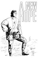 Fight Like a Jedi - Benefit for Matthew Litchfield by Dave-Acosta