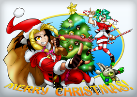 Merry Christmas from the Mad Girls! by FrancoTieppo