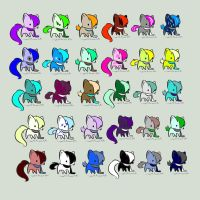 Huge Cat Adopts!(closed) by flamelover1
