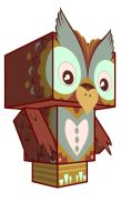 owl cubecraft 2 by SlaterAW