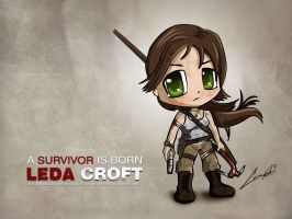 Wallpaper Tomb Raider Reborn by ledacroft