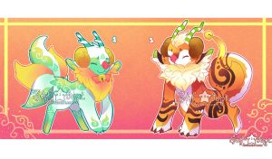 [CLOSED]Fluffest and Giantis Babi-Babi-Puff by Skf-Adopt