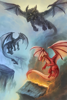 Dragons by Nepharus