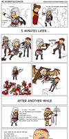 Assassin's Creed - Revenge is Sweet Comic(Colored) by Megaman-EX