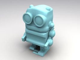Bobalongs Toy Robot 3D Reproduction by sicklilmonky