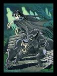 Wulf and Batsy With Ghosts by BryanBaugh