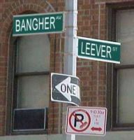 Funny Street Sign by SamusXPeach