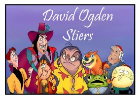 David Ogden Stiers by raggyrabbit94