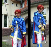 Eliwood Cosplay 1 by InnocentiaSanguinis