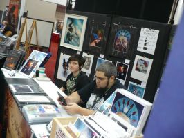 Palladium Books GenCon Booth 2014 57 by MADMANMIKE