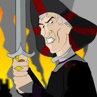 Disney villain: Frollo by kyleb-2k8