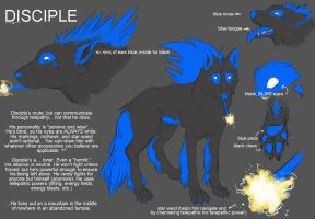 Disciple Character Sheet by wingedness